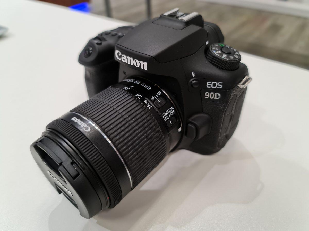 Fotoaparat eos canon