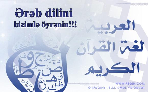 ərəb dili kursları.