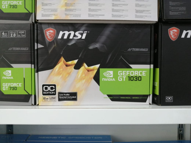 """Video kart """"msi geforce gt 1030 low profile 2 gd4 oc"""""""