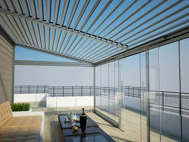 Rolling roof sisteminin qurasdirilmasi