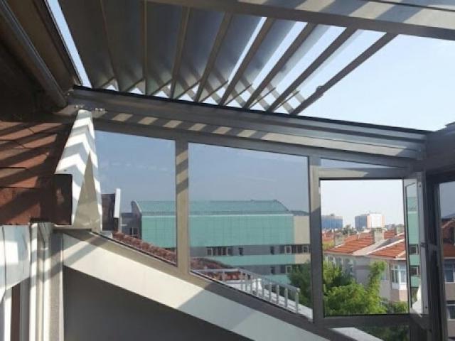 Rolling roof tavan sistemi