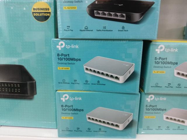 Tp-link 10/100mbps desktop switch tl-sf1008d