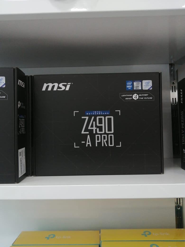 """Ana plata """"msi z490 a pro"""""""