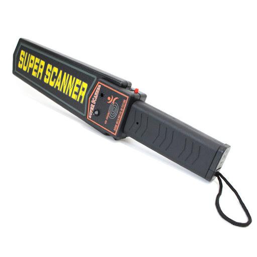 El tipli ust arama metal detektoru