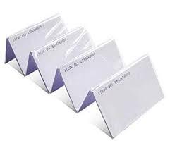 Biometrik sistemlerde istifade olunan id plastic kartlar