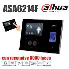 Dahua face control asa6214f cihazı