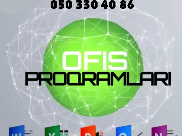 Peşəkar səviyyədə Ofis proqramları kursları