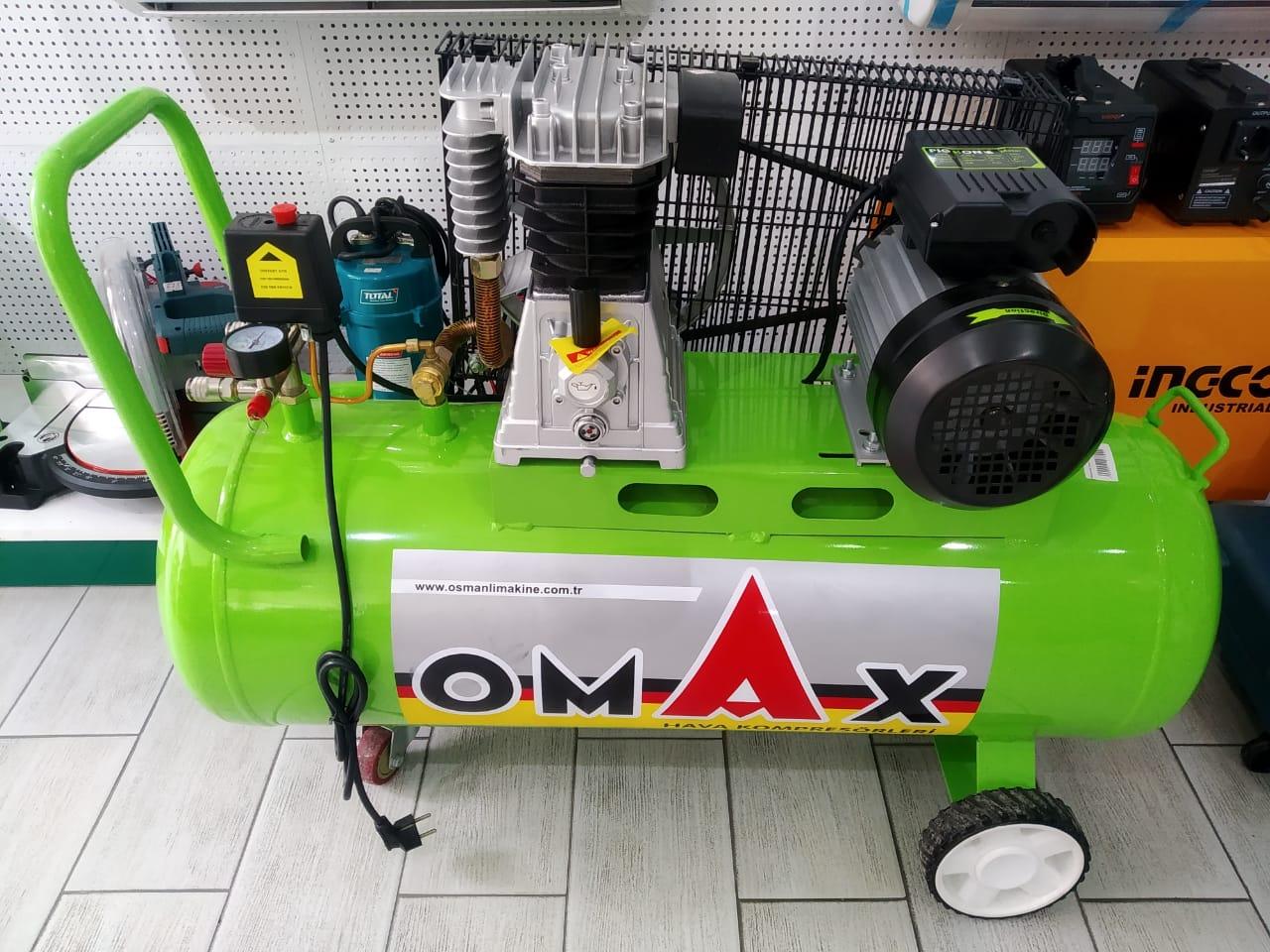 Omax Kompressor 100 Litr Faizsiz Kreditle Arayissiz Zaminsiz