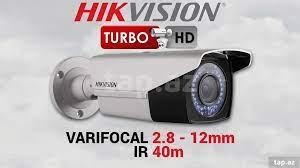 """Smart kamera """"Hikvision DS-2CE16C2T-VFIR3 V Vari-focal 2.8~12mm"""""""